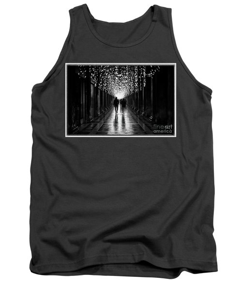 Light, Shadows And Symmetry Tank Top
