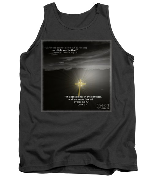 Light Shines In The Darkness Tank Top
