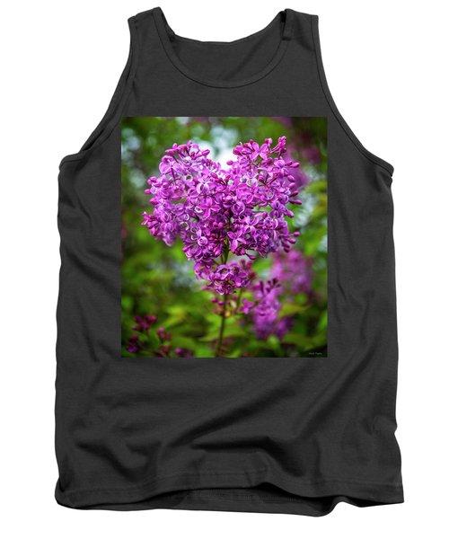 Lilac Heart Tank Top