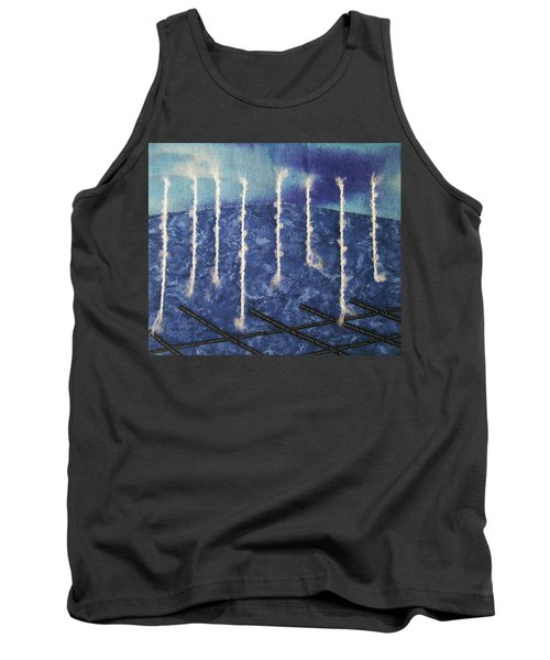 Lines Of Text Tank Top