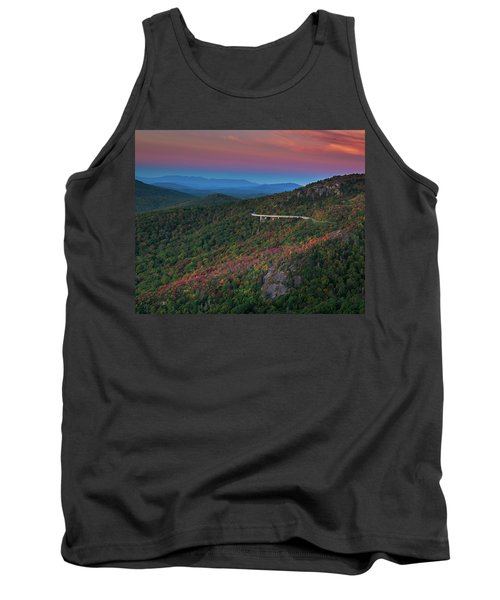 Linn Cove Pink And Blue Tank Top