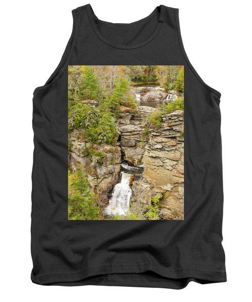 Linville Falls - Vertical Tank Top