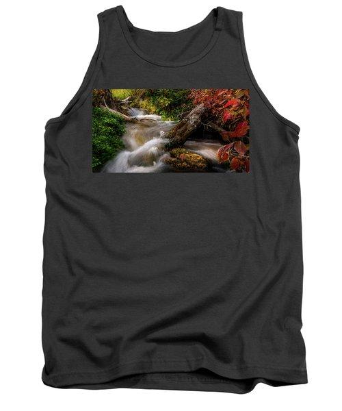 Little Deer Creek Autumn Tank Top