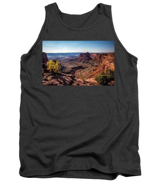 Tank Top featuring the photograph Lonely Butte by David Morefield