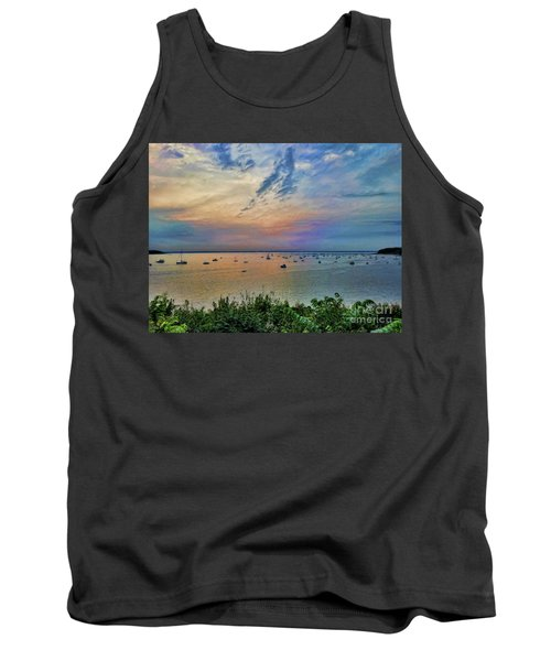 Long Island Sound From Glen Cove Tank Top