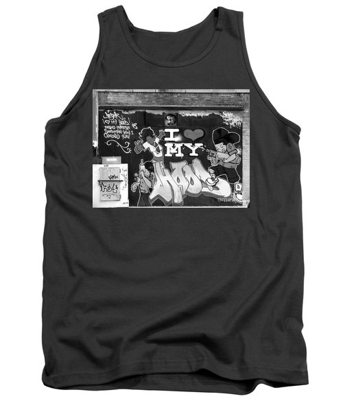 Tank Top featuring the photograph Love My Hood 2009  by Cole Thompson