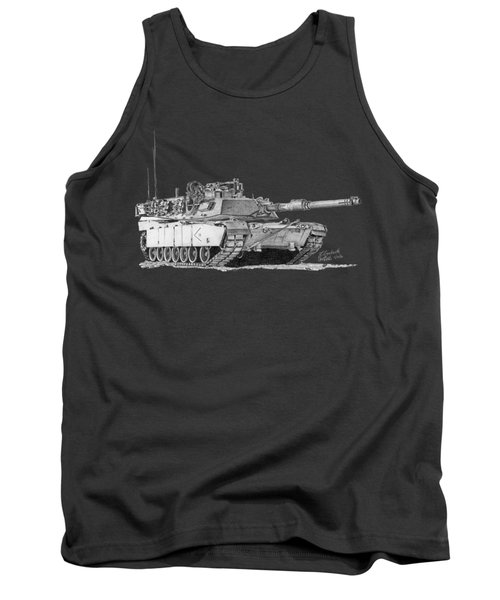M1a1 D Company 2nd Platoon Commander Tank Top
