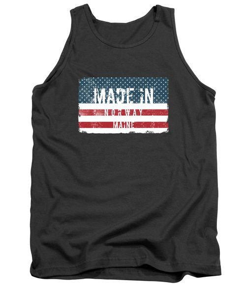 Made In Norway, Maine Tank Top