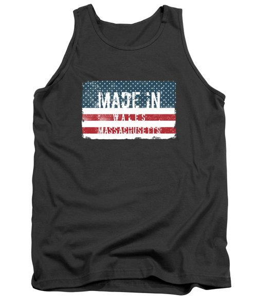 Made In Wales, Massachusetts Tank Top