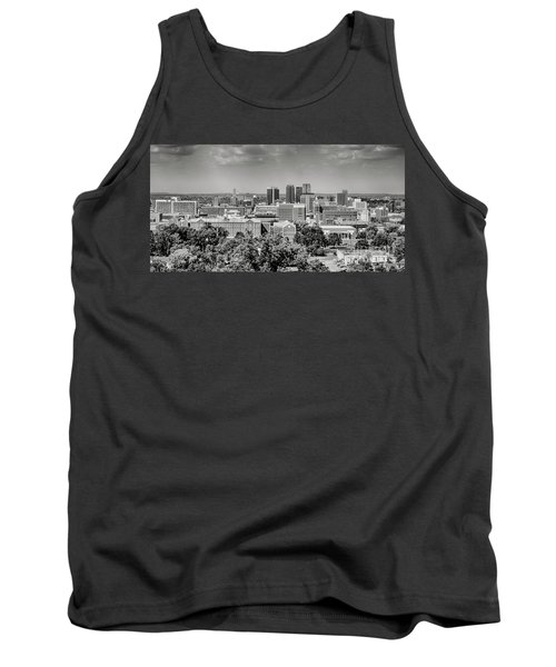 Magic City Skyline Bw Tank Top