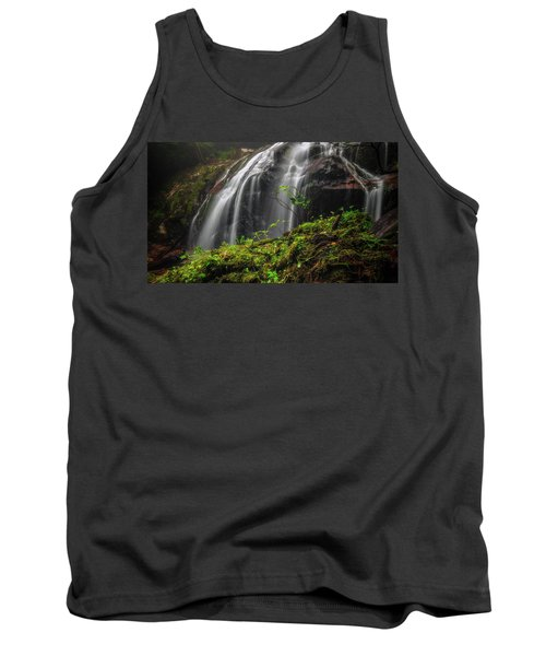 Magical Mystical Mossy Waterfall Tank Top