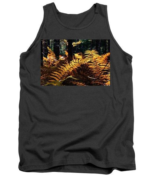 Maine Autumn Ferns Tank Top