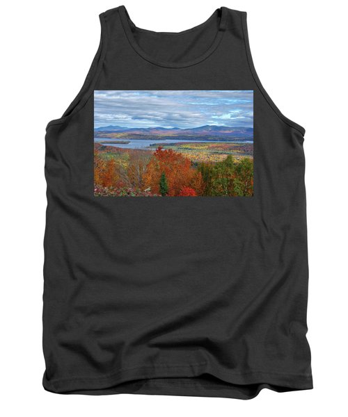 Maine Fall Colors Tank Top
