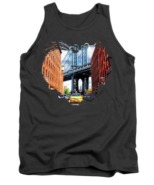 Manhattan Bridge New York City Tank Top