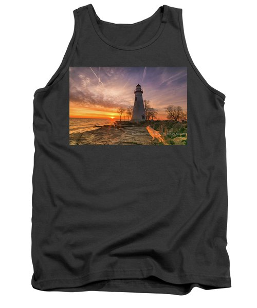 Marblehead Lighthouse Sunrise  Tank Top