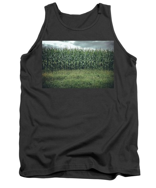 Tank Top featuring the photograph Maze Field by Steve Stanger