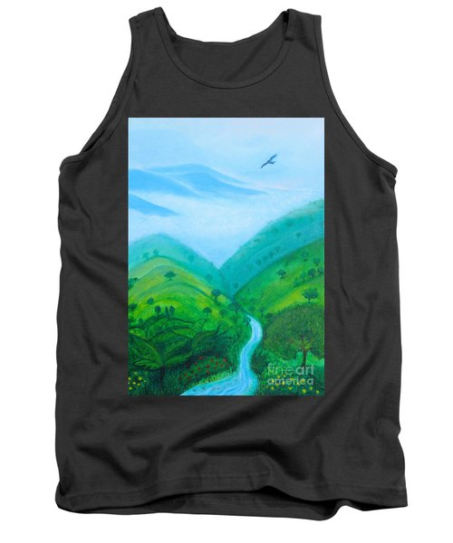 Medellin Natural Tank Top