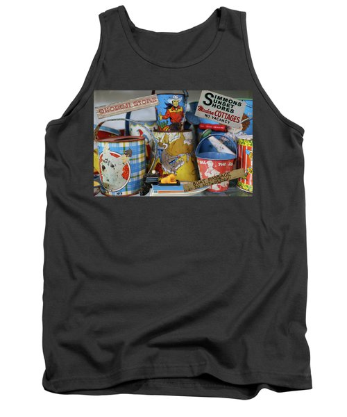 Memories Of Iowa Great Lakes Tank Top