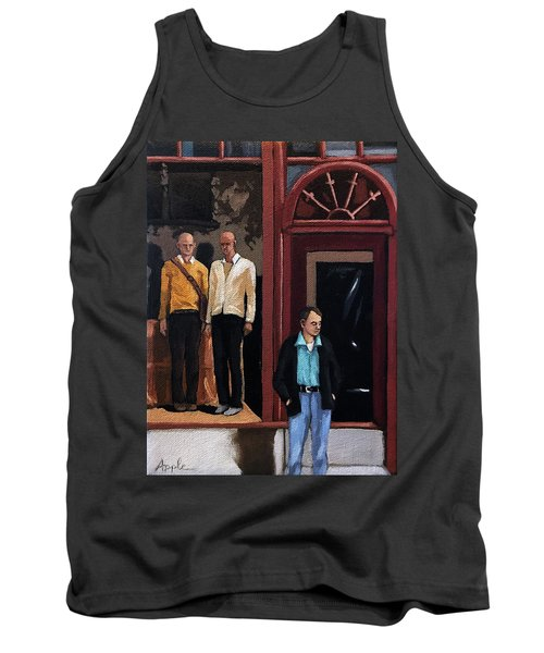 Men's Fashion Oil Painting Tank Top