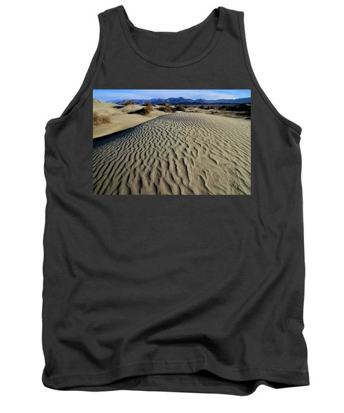 Mesquite Flat Sand Dunes Grapevine Mountains Tank Top