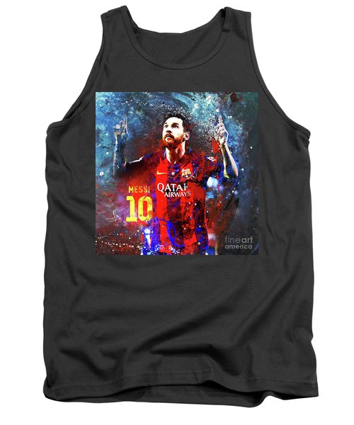 Messi Barcelona Player Tank Top