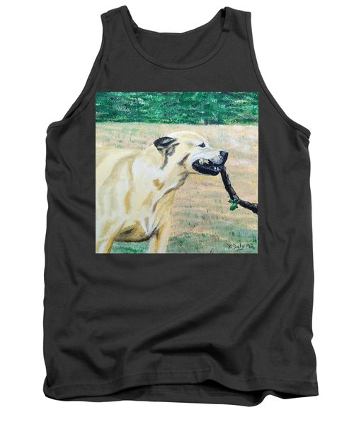Tank Top featuring the painting Mike by Kevin Daly