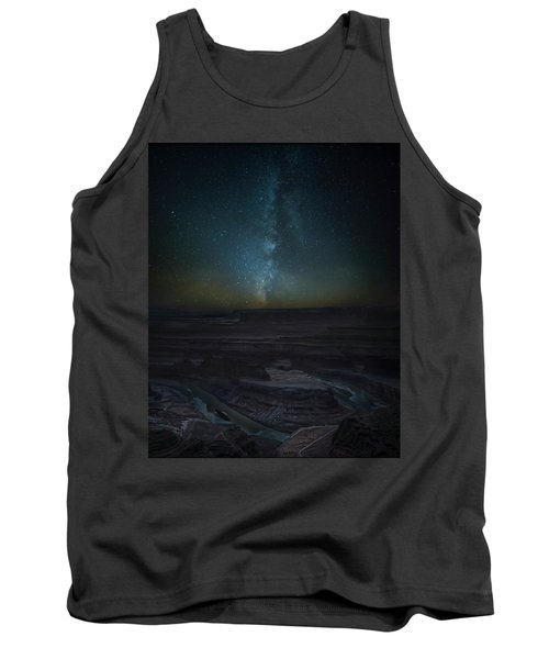 Tank Top featuring the photograph Milky Way Over Dead Horse Point by David Morefield