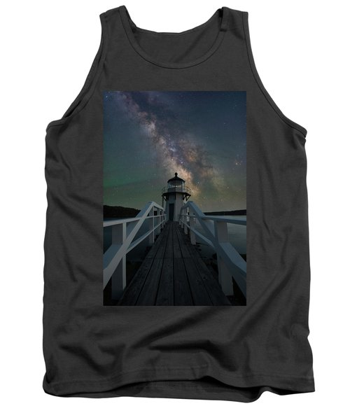 Milky Way Over Doubling Point Tank Top