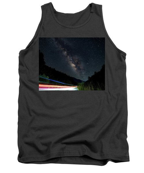 Milky Way Over The South Road Tank Top