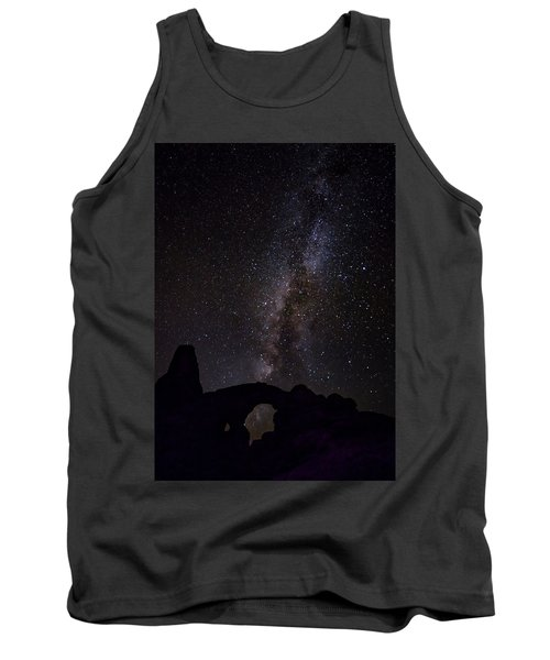 Tank Top featuring the photograph Milky Way Over The Windows by David Morefield