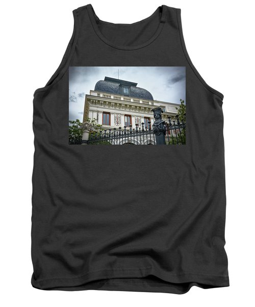 Ministry Of Agriculture Building Of Madrid Tank Top