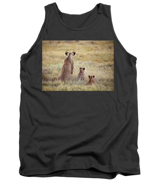 Mom And Cubs Tank Top