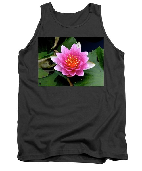 Monet Water Lilly Tank Top