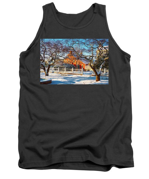 Morning Light, Winter Garden. Tank Top