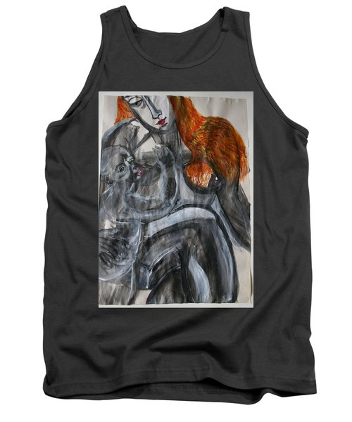 Mother Earth Feeds The World Tank Top