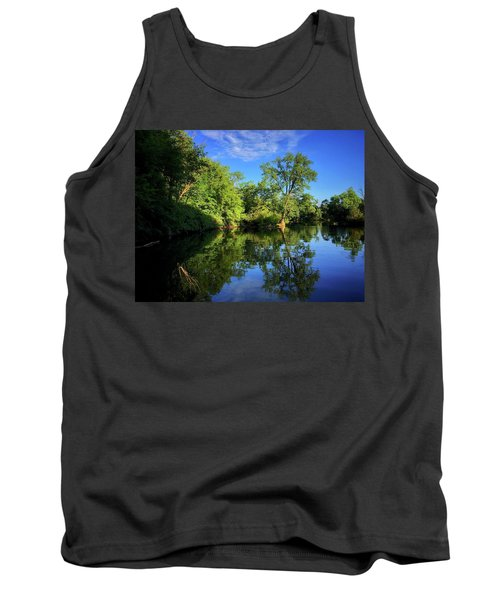 Tank Top featuring the photograph Mount Vernon Iowa by Dan Miller
