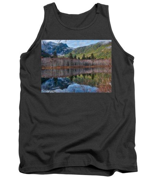 Mountain Lake Reflections Tank Top