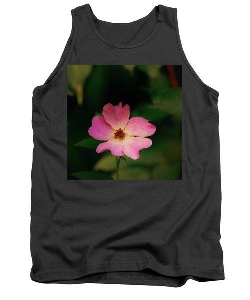 Multi Floral Rose Flower Tank Top