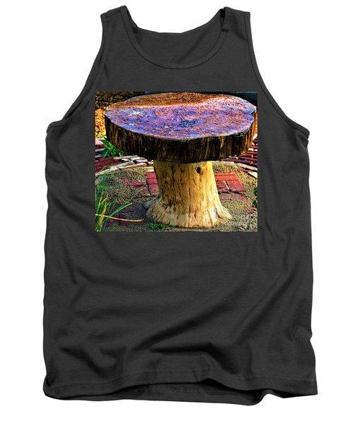 Mushroom Table Tank Top