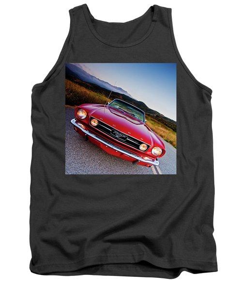 Mustang Convertible Tank Top