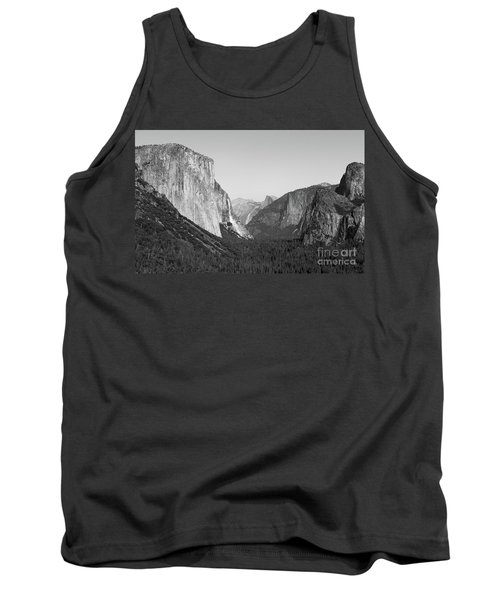 Nature At Its Best - Black-white Tank Top