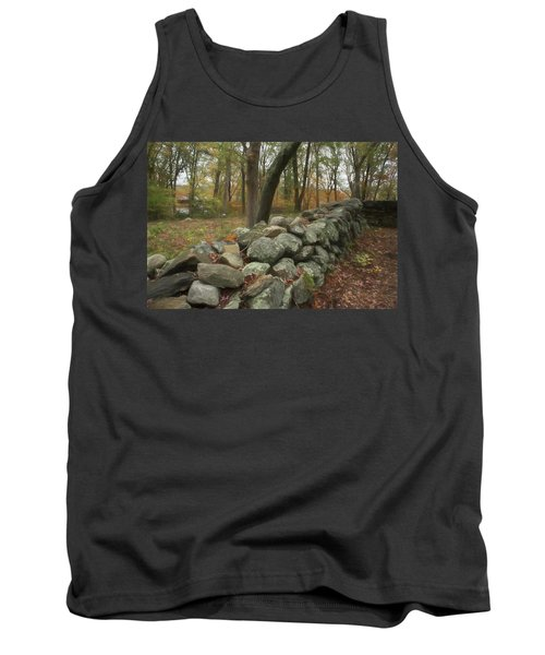New England Stone Wall 1 Tank Top