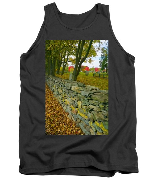 New England Stone Wall 2 Tank Top
