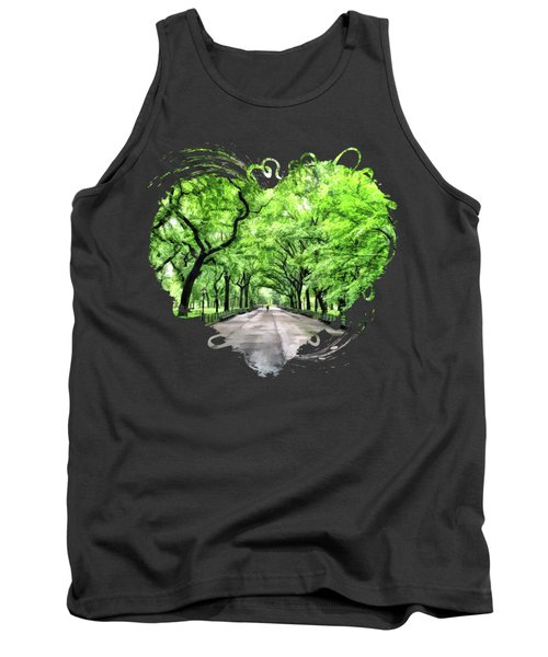 New York City Central Park Mall Tank Top