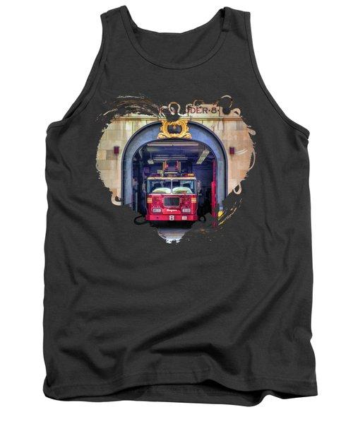 New York City Firehouse Company 8 Tank Top