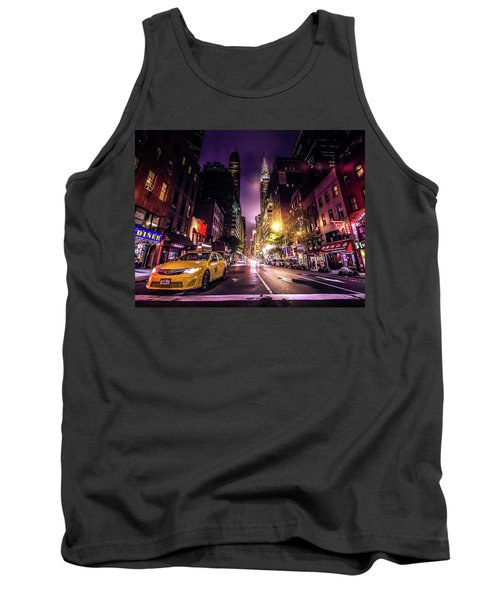New York City Street Tank Top
