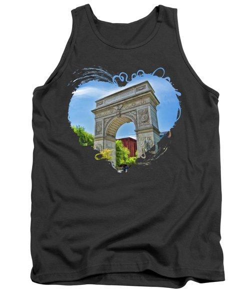 New York City Washington Square Park Tank Top