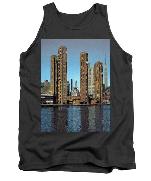 New York Midtown Appartments - Fantasy Art Tank Top