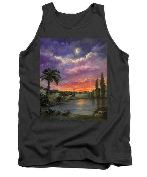 Night By Light Of Day Tank Top