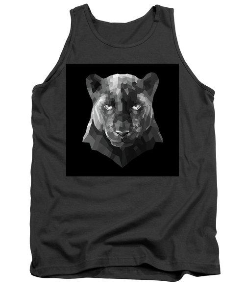 Night Panther Tank Top